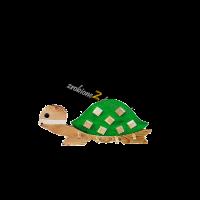 Wieszak żółw