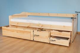 Łóżko SOFA 2S