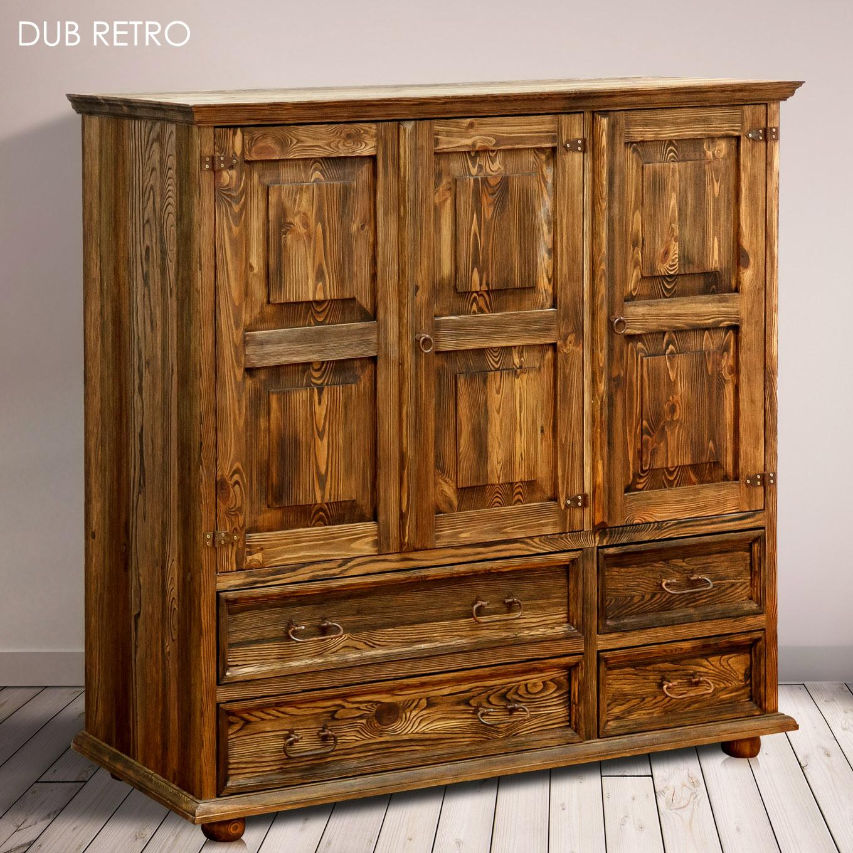 Olejovosk a Strukturování - Dub Retro