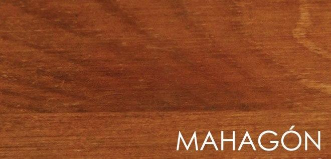 Wosk - mahoń