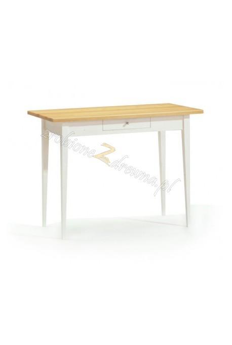 Biały stół sosnowy Siena 16 do kuchni lub jadalni