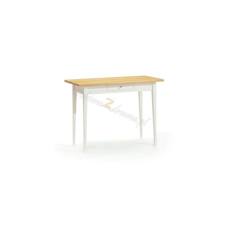 Biały stół sosnowy Siena 16 do kuchni lub jadalni>                                         <span class=