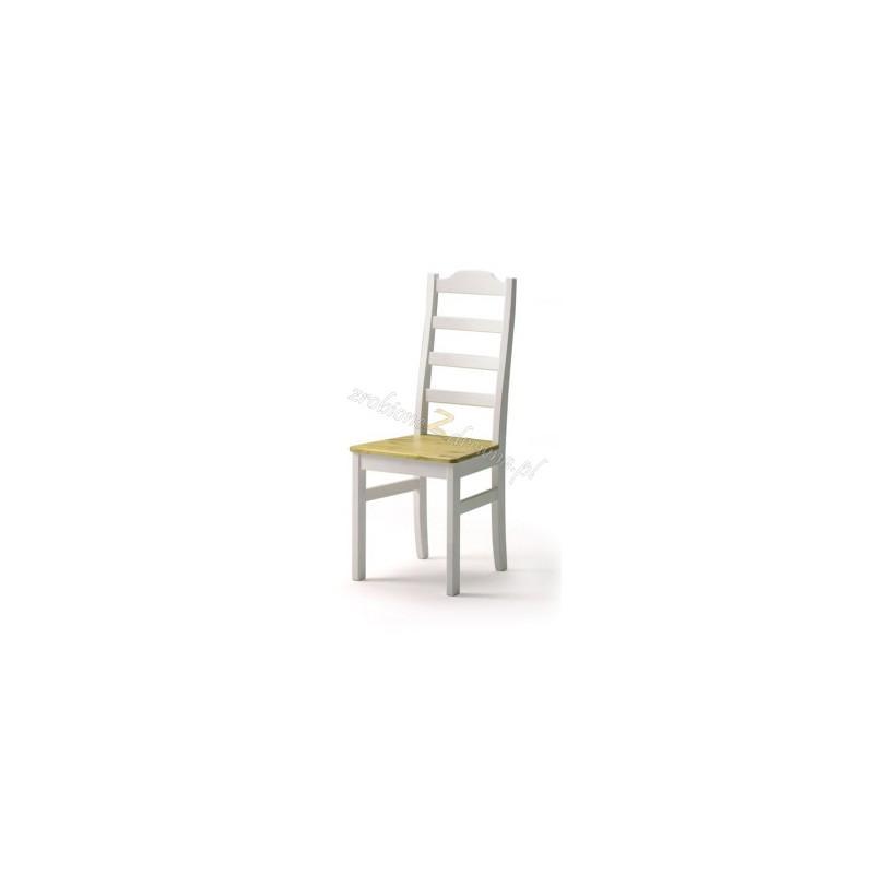 Białe krzesło kuchenne Siena 20 w stylu skandynawskim>                                         <span class=