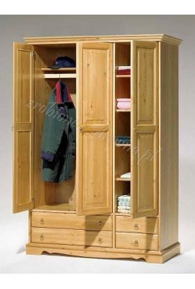 Szafa drewniana Romantik 01 do sypialni