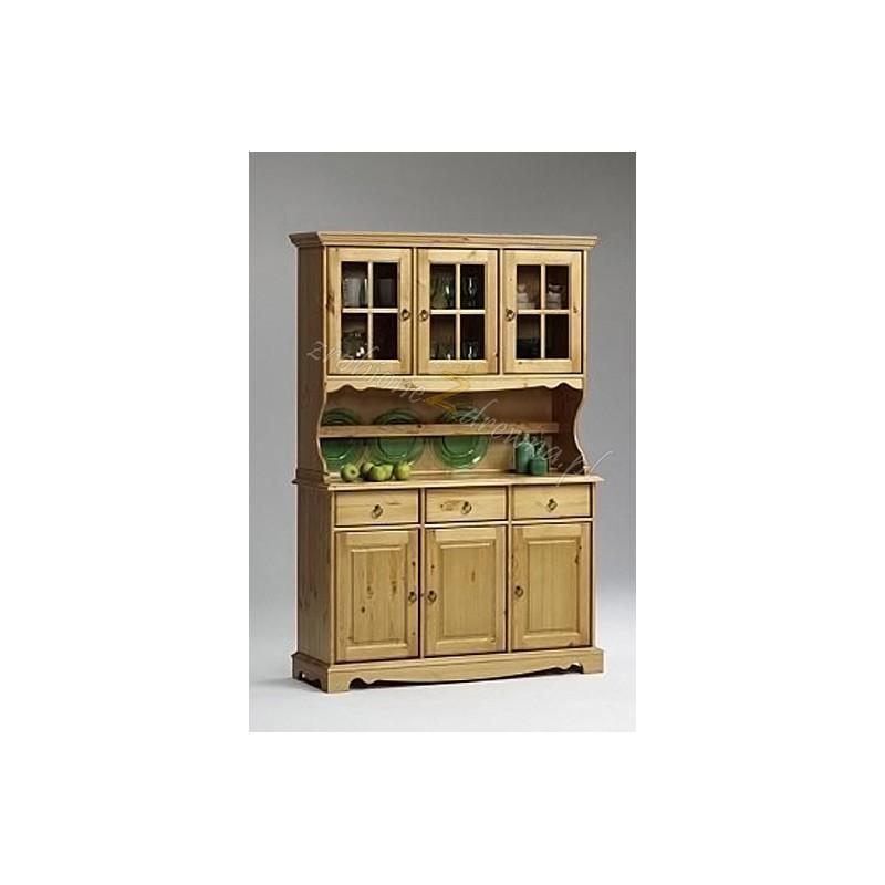 Kredens drewniany Romantik 03 do kuchni>                                         <span class=