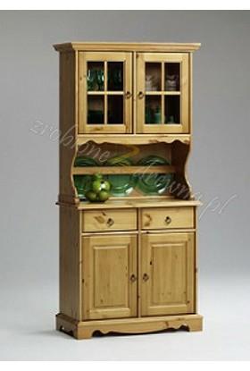 Kredens drewniany Romantik 05 do kuchni