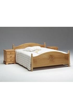 Łóżko drewniane Romantik 09 do sypialni