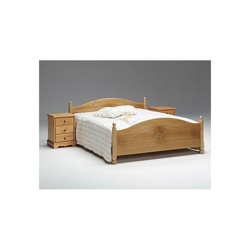 Łóżko drewniane Romantik 09 do sypialni>                                         <span class=