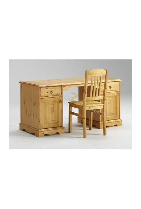 Stylowe biurko drewniane Romantik 15 do biura