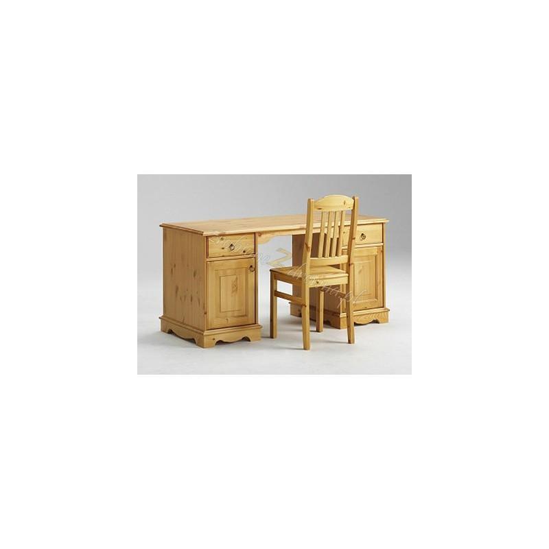Stylowe biurko drewniane Romantik 15 do biura>                                         <span class=