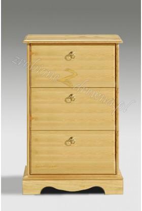 Stylowa szafka RTV drewniana Romantik 18 do przedpokoju
