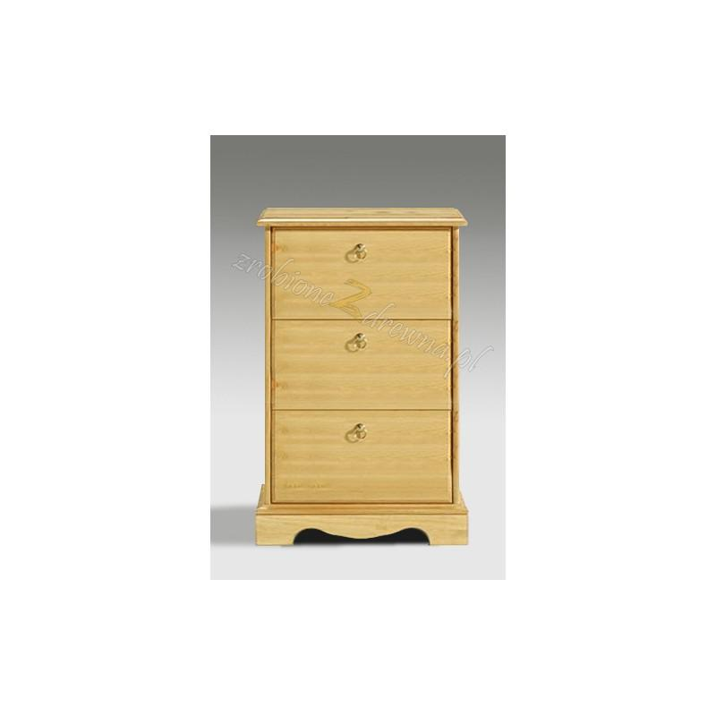 Stylowa szafka RTV drewniana Romantik 18 do przedpokoju>                                         <span class=
