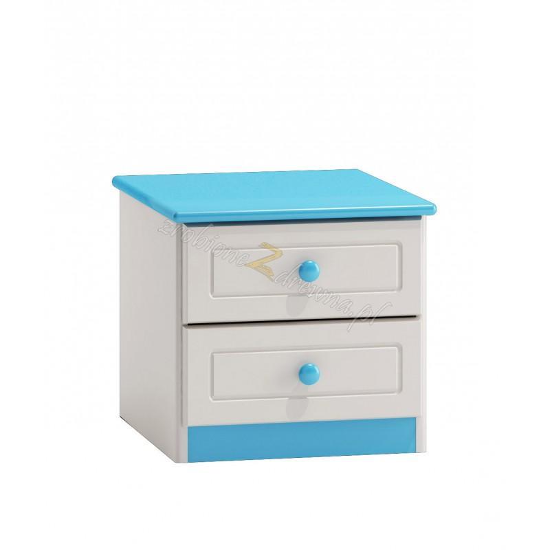 Biały nakastlik drewniany Smyk 07 do pokoju dziecięcego>                                         <span class=