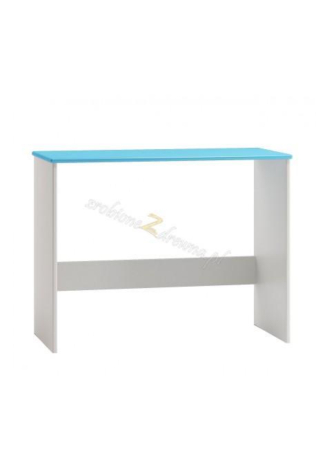 Białe biurko drewniane Smyk 09 dla dziecka
