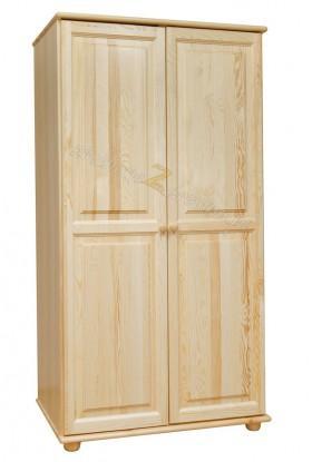 Szafa Klasyczna 03 z litego drewna sosnowego