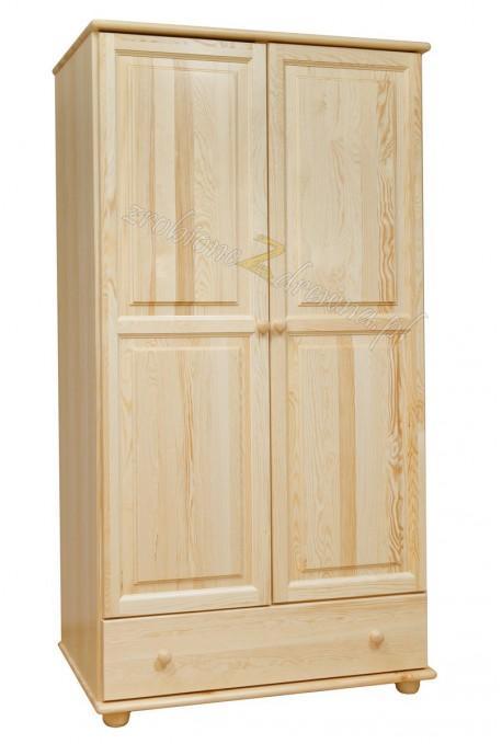 Szafa drewniana Klasyczna 04 do sypialni