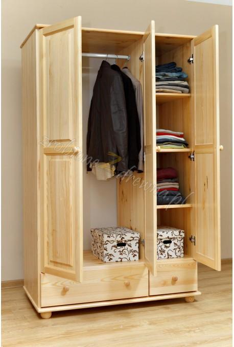 Szafa drewniana Klasyczna 07 do sypialni