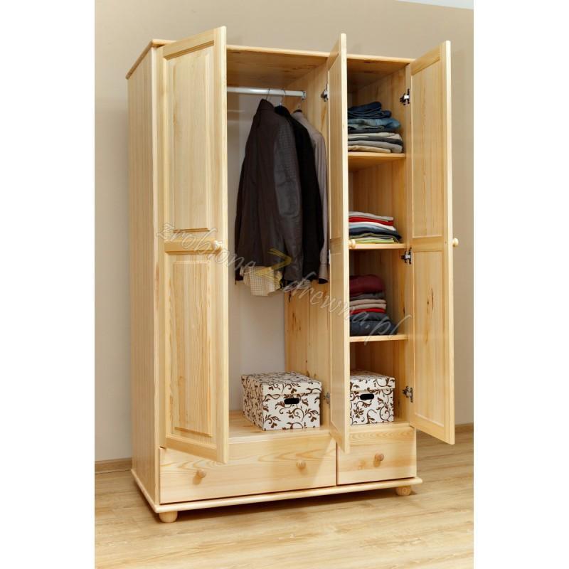 Szafa drewniana Klasyczna 07 do sypialni>                                         <span class=