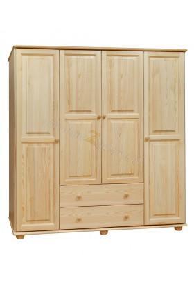 Szafa drewniana Klasyczna 13 do sypialni