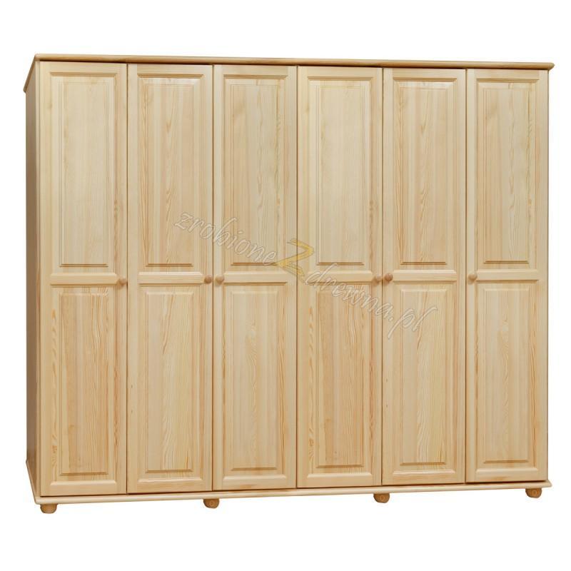 Szafa Klasyczna 16 z litego drewna sosnowego>                                         <span class=