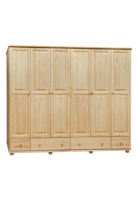 Szafa drewniana Klasyczna 17 do sypialni