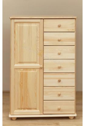 Bieliźniarka drewniana Klasyczna 27 do sypialni