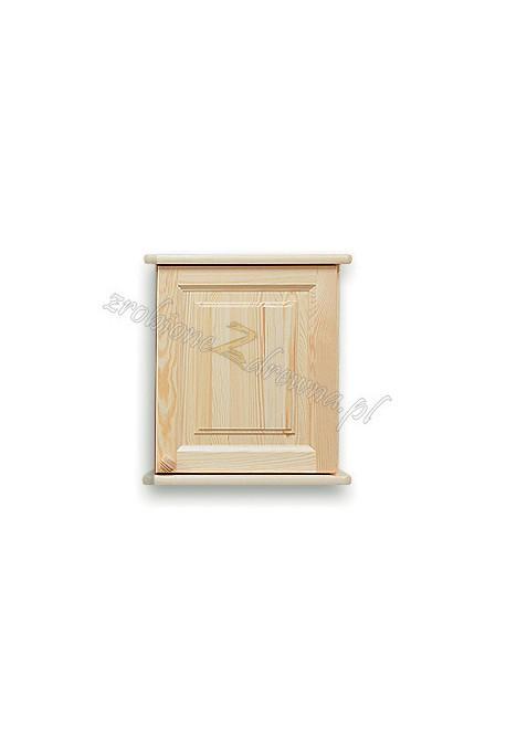 Nadstawka do szafy drewniana Klasyczna 01 jednodrzwiowa