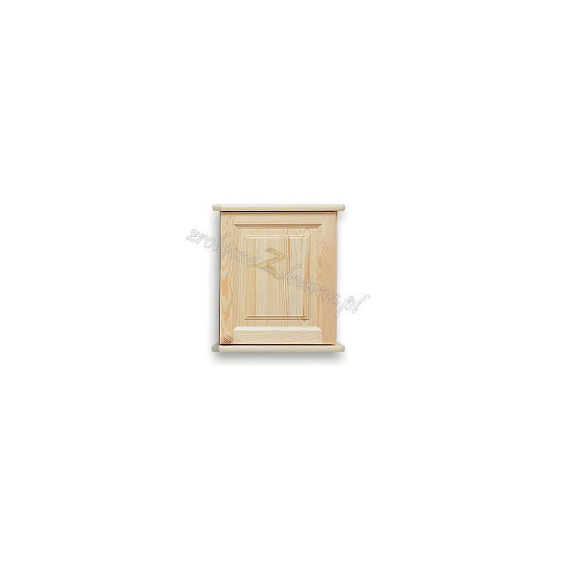 Nadstawka do szafy drewniana Klasyczna 01 jednodrzwiowa>                                         <span class=