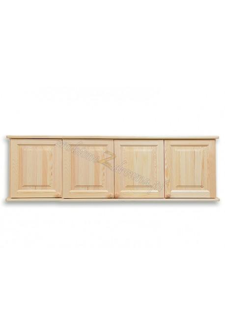 Nadstawka do szafy drewniana Klasyczna 04 czterodrzwiowa