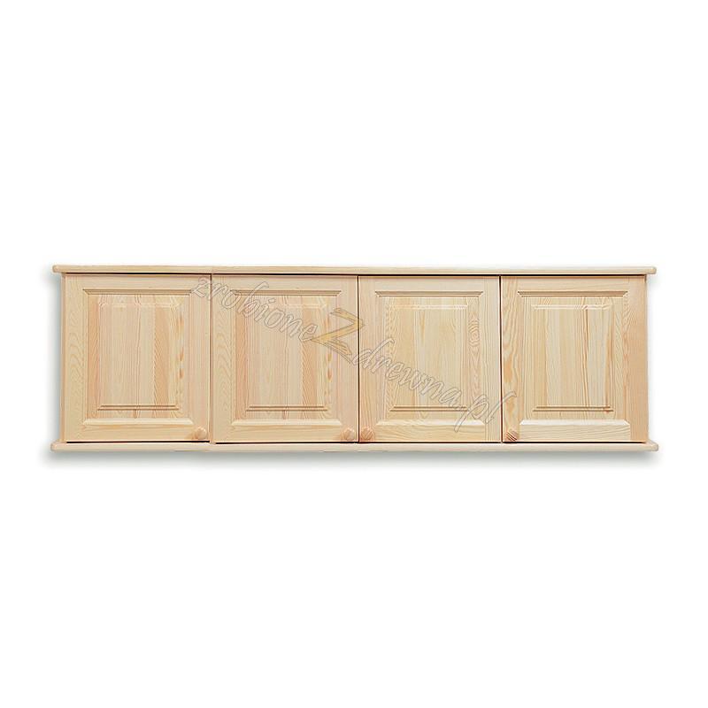 Nadstawka do szafy drewniana Klasyczna 04 czterodrzwiowa>                                         <span class=
