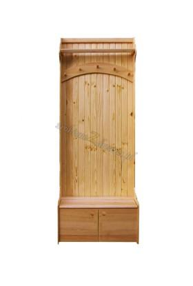 Garderoba Klasyczna 06 z litego drewna sosnowego