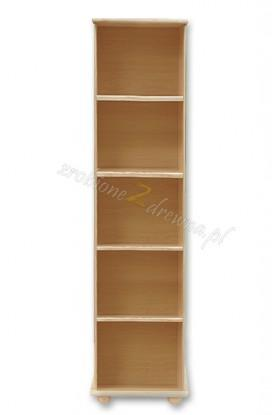 Regał drewniany Klasyczny 02 do salonu