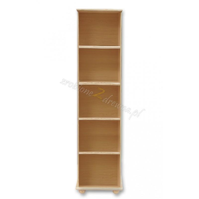 Regał drewniany Klasyczny 02 do salonu>                                         <span class=