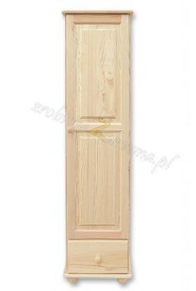 Witryna drewniana Klasyczna 06 do salonu