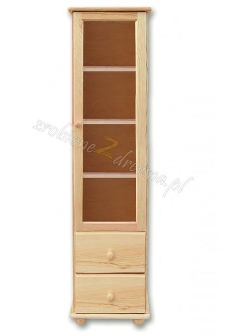Regał drewniany Klasyczny 08 do salonu