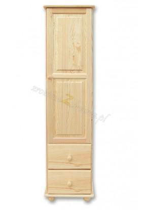 Regał sosnowy Klasyczny 09 do sypialni