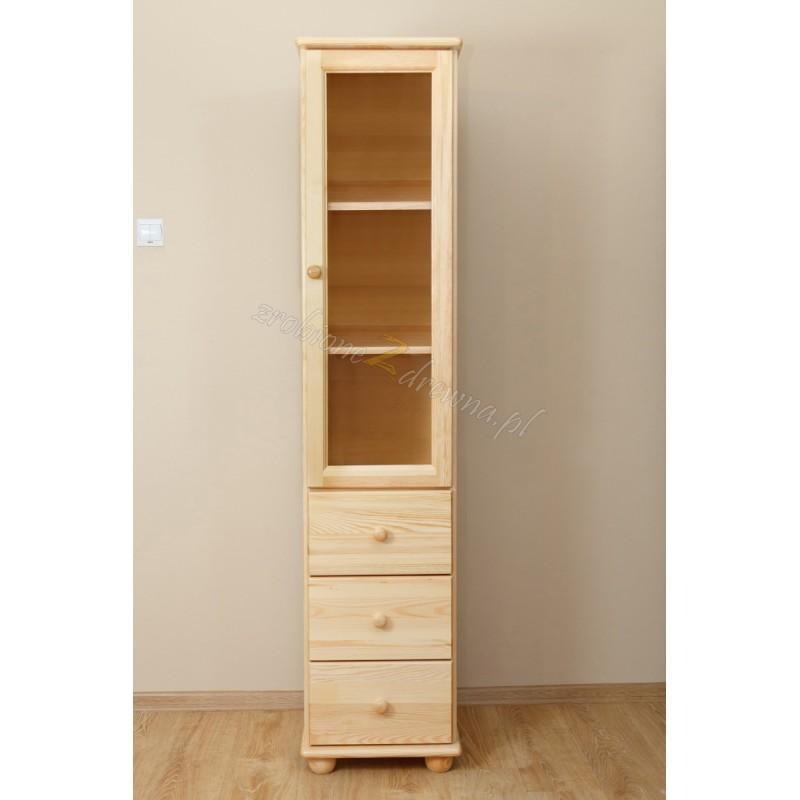 Witryna drewniana Klasyczna 11 do salonu>                                         <span class=