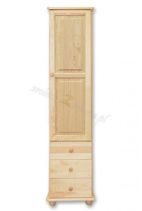 Witryna sosnowa Klasyczna 12 do sypialni