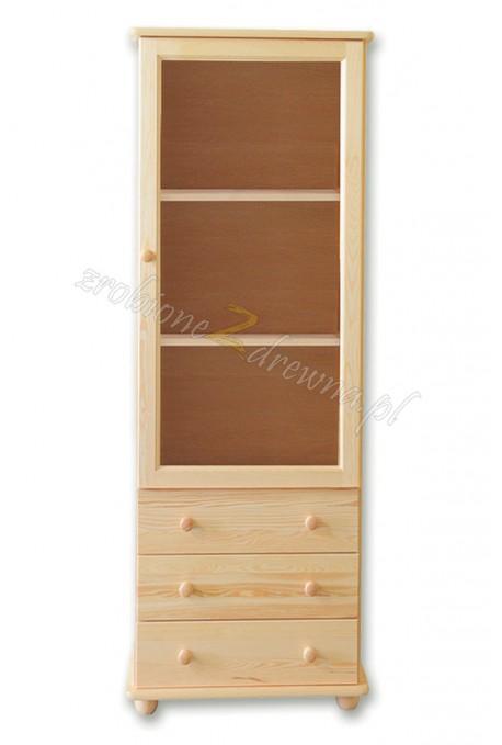 Witryna Klasyczna 14 z litego drewna sosnowego