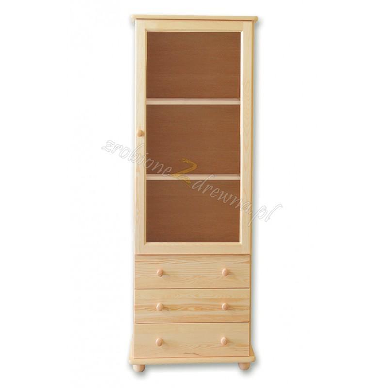 Witryna Klasyczna 14 z litego drewna sosnowego>                                         <span class=