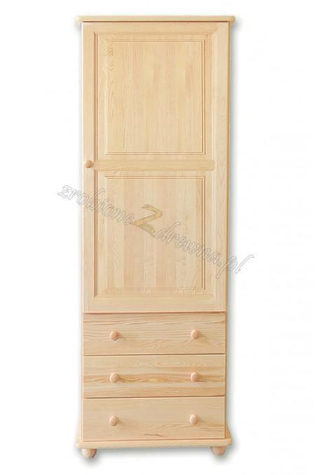 Witryna drewniana Klasyczna 15 do salonu