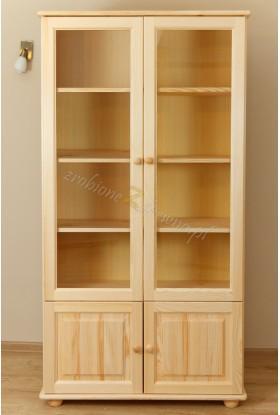Witryna drewniana Klasyczna 20 do salonu