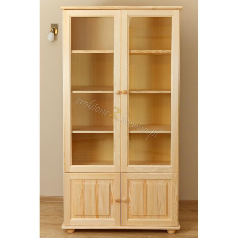 Witryna drewniana Klasyczna 20 do salonu>                                         <span class=