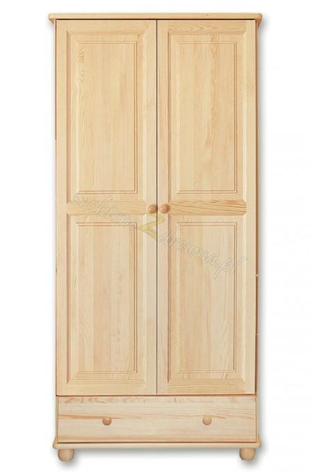 Witryna drewniana Klasyczna 24 do salonu