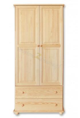 Witryna Klasyczna 27 z litego drewna sosnowego