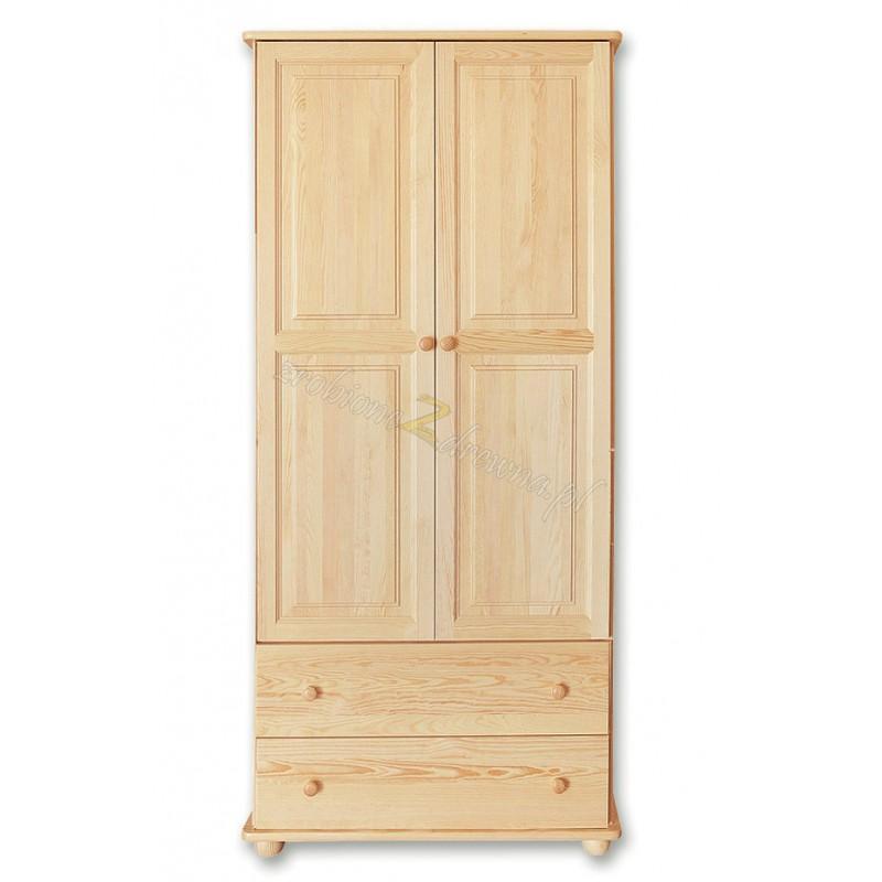 Witryna Klasyczna 27 z litego drewna sosnowego>                                         <span class=