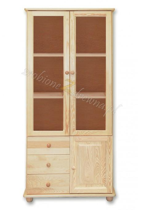Witryna drewniana Klasyczna 29 do salonu