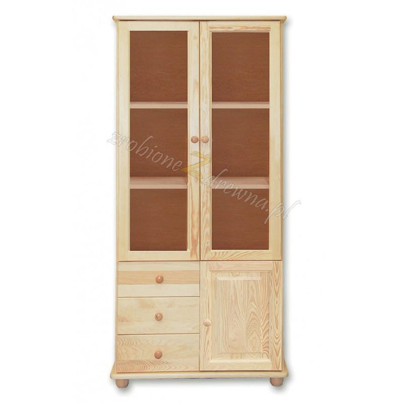 Witryna drewniana Klasyczna 29 do salonu>                                         <span class=
