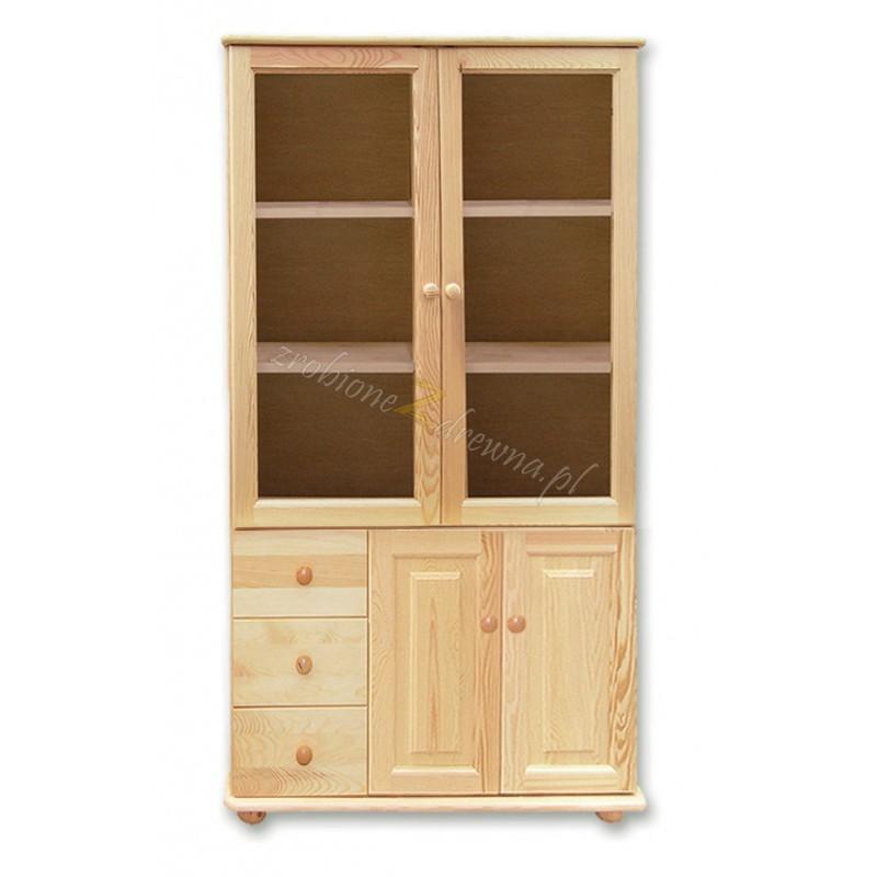 Witryna drewniana Klasyczna 35 do salonu>                                         <span class=