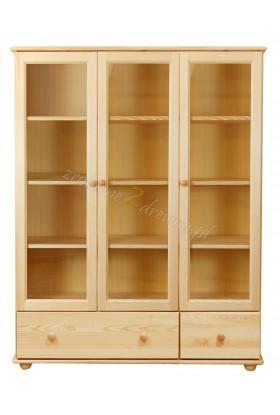Witryna drewniana Klasyczna 38 do salonu